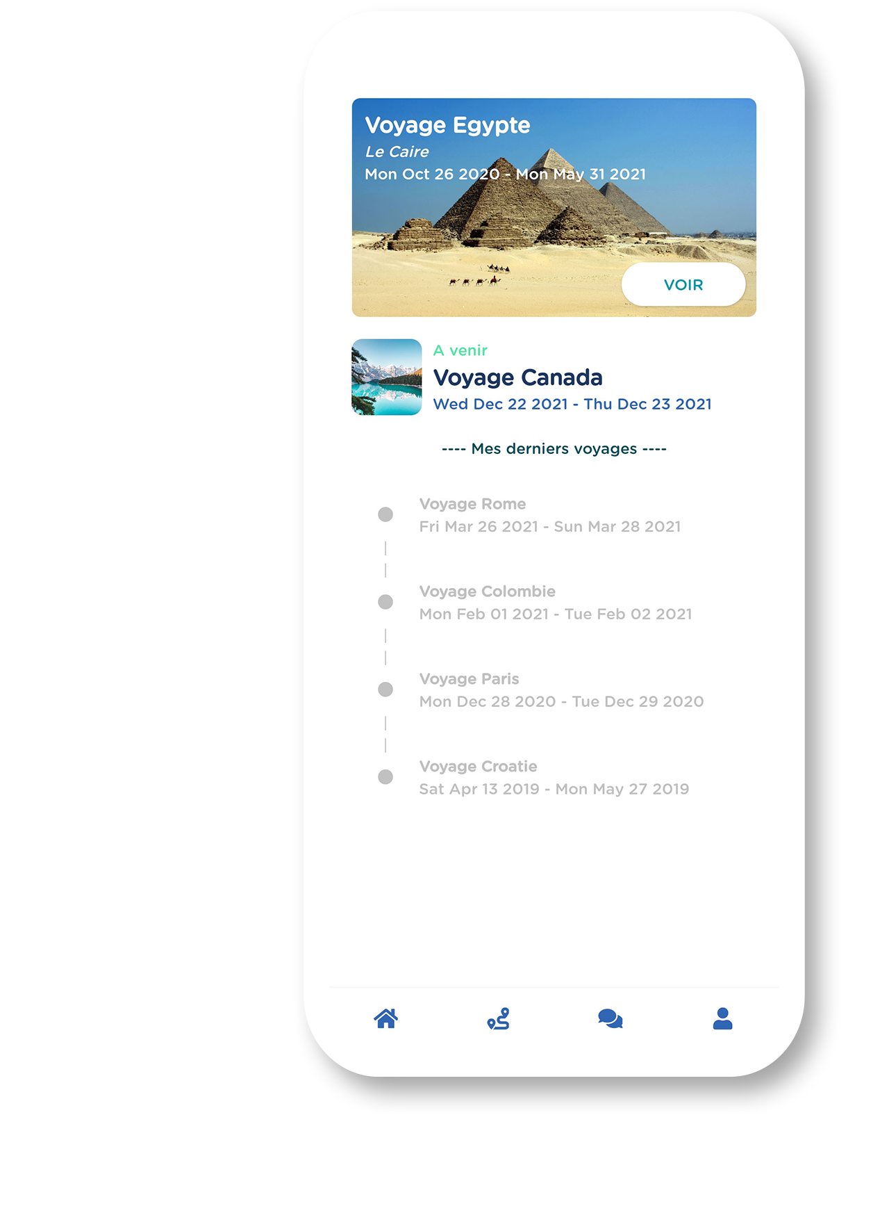 GeniusTravel.io application preview